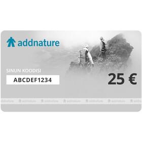 addnature Gift Voucher, 25,00€